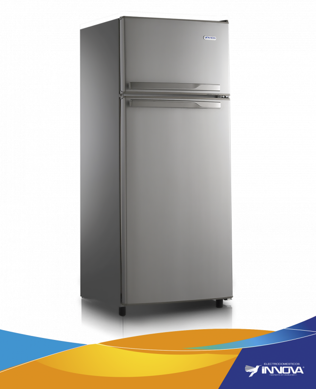REFRIGERADOR INNOVA 12 PIES - 256LTS. CON DISPENSADOR NF METALIZADA / ALPINA 1200 CNF MAN-IN