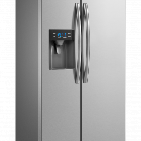 REFRI SIDE BY SIDE 504LTS. INNOVA INVERTER NF ICE MAKER - DISP. DE AGUA / EVEREST 504 INVERT-CROMA