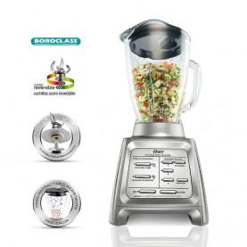 Licuadora reversible Gourmet Collection plateada OSTER BLSTRM-DZ0-013