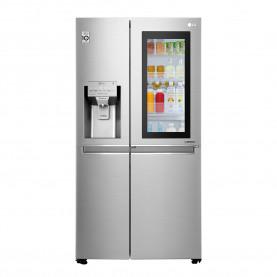 LG REFRIG S&S 23 PIES TITANIUM INSTAVIEW-DOOR IN DOOR - ICE MAKER / MODELO: LS65SXN